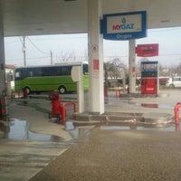 Photo taken at topçuoğlu petrol ltd by Tolga T. on 2/28/2016