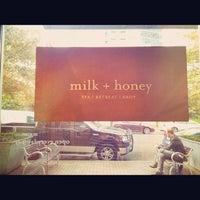 Photo taken at milk + honey day spa by Lisa M. on 10/17/2012