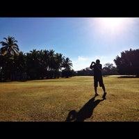 Photo taken at Campo de Golf de Colima by Mario C. on 3/4/2014