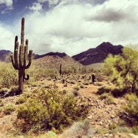 Photo taken at Sonoran Preserve - Sonoran Loop Trail by J. Todd R. on 4/22/2013