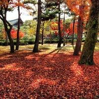 Photo taken at Kennin-ji Temple by yah on 12/1/2012