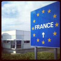 Photo taken at Eurotunnel Victor Hugo Terminal by Philip A. on 6/7/2013