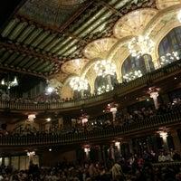 Foto tomada en Palau de la Música Catalana por Fernando D. el 4/19/2013
