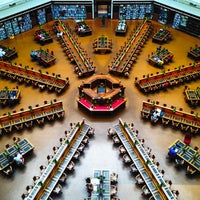 Photo taken at State Library of Victoria by Terrence L. on 1/4/2013