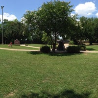 Photo taken at Veteran's Park by Itsnotme S. on 5/25/2014