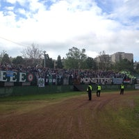 Photo taken at Rohonci úti stadion by Robert L. on 5/18/2014
