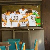 Das Foto wurde bei Alkan's cafe-bistro von Azat B. am 10/4/2015 aufgenommen