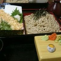 Photo taken at 麺坊 蕎麦博 by Hideki T. on 5/1/2015