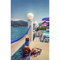 Photo taken at Lavinya Otel & Beach by Gamze Ö. on 8/4/2015