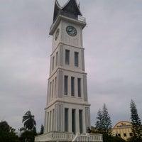 Photo taken at Jam Gadang by Dwisa Wukir H. on 12/30/2012
