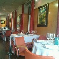 Photo taken at Restaurante Cal Mingo by Tina C. on 2/8/2013