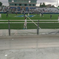 Photo taken at NY Cosmos at Shuart Stadium by Peter A. on 8/2/2014