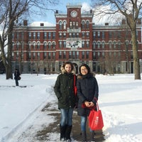 Photo taken at Clark University by Ekaterina K. on 1/21/2015