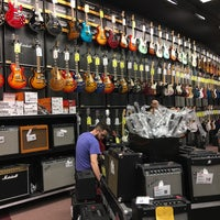 Photo taken at Guitar Center by Josh L. on 10/21/2017