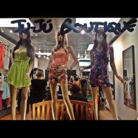 Photo taken at JuJu boutique by David P. on 6/29/2013