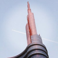 Photo taken at Unicredit Tower by Giacomo C. on 12/23/2012