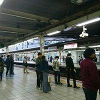 Photo taken at JR武蔵小杉駅 1番線ホーム by Yukiha K. on 4/8/2017