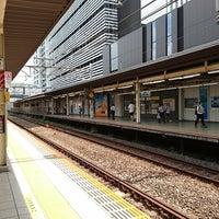Photo taken at JR武蔵小杉駅 1番線ホーム by Yukiha K. on 8/9/2017