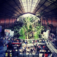 Photo taken at Madrid-Puerta de Atocha Railway Station by RodrY R. on 4/21/2013