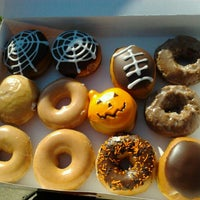 Photo taken at Krispy Kreme Doughnuts by Tim K. on 10/13/2012