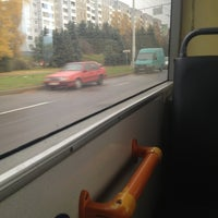 Photo taken at Троллейбус № 44 by Julia K. on 10/27/2013