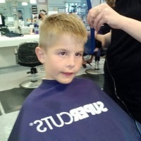 Photo taken at Supercuts by Leslie P. on 9/2/2013