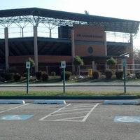 Photo taken at Joe Cannon Stadium by Kayleigh O. on 4/9/2013
