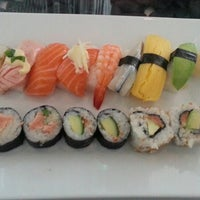 Photo taken at Hanko Sushi by Sovereign on 6/18/2013