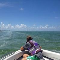 Photo taken at Shell Island by Jennifer R. on 8/3/2013