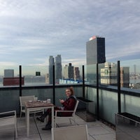 Photo taken at Rooftop @ Element NY Times Square by Jane P. on 1/13/2014