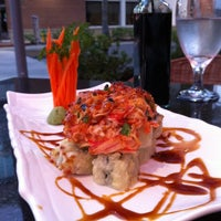 Photo taken at Twist Asian Fusion Hibachi & Bar by Jackson on 10/23/2012