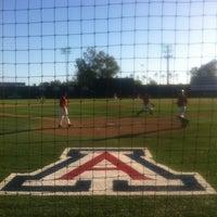 Photo taken at Hi Corbett Field by Garren K. on 4/17/2013