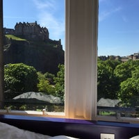 Photo taken at easyHotel Edinburgh by Berk M. on 6/10/2015