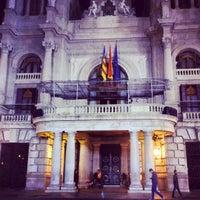 Photo taken at Ajuntament de València by Josué C. on 3/18/2013
