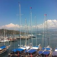 6/15/2013 tarihinde Erman H.ziyaretçi tarafından Alesta Yacht Hotel'de çekilen fotoğraf