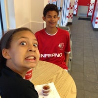 Photo taken at Five Guys by Brian M. on 4/27/2014