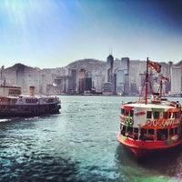 Das Foto wurde bei Star Ferry Pier (Tsim Sha Tsui) von Javier D. am 12/31/2012 aufgenommen