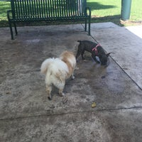 Photo taken at Waterways Dog Park by Yuliya Y. on 5/14/2017
