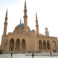 Photo taken at Mohammed Al-Amin Mosque by Serkan O. on 2/22/2017