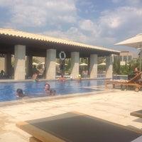 Photo taken at Romanos Costa Navarino Pool by Jeffrey B. on 8/3/2013