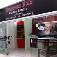 Photo taken at Itapema Ink Tattoo Studio by Cibele L. on 6/22/2013