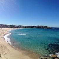 Photo taken at Bondi Beach by Daniel D. on 4/26/2013