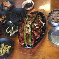 Photo taken at Sura Korean Restaurant by regine c. on 7/16/2015