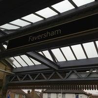 Photo taken at Faversham Railway Station (FAV) by nico on 2/26/2013