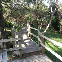 Photo taken at Fred Hollows Reserve by Ryan F. on 1/3/2014