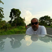 Photo taken at Hotel Boiadeiro by André Luiz L. on 11/25/2012