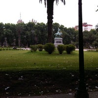 Photo taken at Plaza San Martín by Ivan D. on 11/10/2012