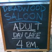 Photo taken at Deadwood Saloon by Adia R. on 10/10/2012