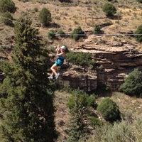 Photo taken at Zip Adventures by Chris B. on 8/3/2014