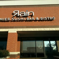 Photo taken at Rain Premier Sushi Bar & Bistro by Steven F. on 1/4/2013